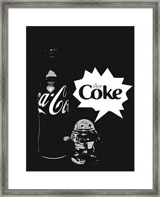 Coca-cola Forever Young 9 Framed Print