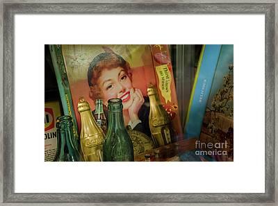 Coca Cola Memorbelia 9 Framed Print by Bob Christopher