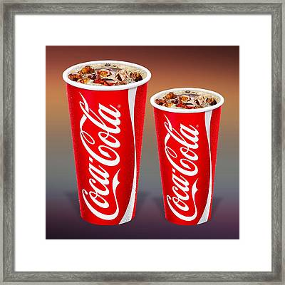 Coca Cola  Framed Print by Movie Poster Prints