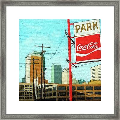 Coca Cola Park Framed Print