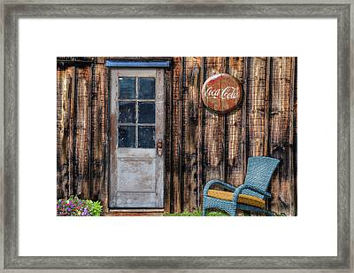 Coca Cola Framed Print by Paul Wear