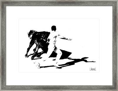 Cocarde One Framed Print by L KervaL