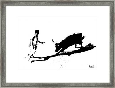 Cocarde Two Framed Print by L KervaL