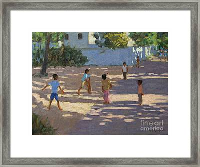 Cochin Framed Print by Andrew Macara