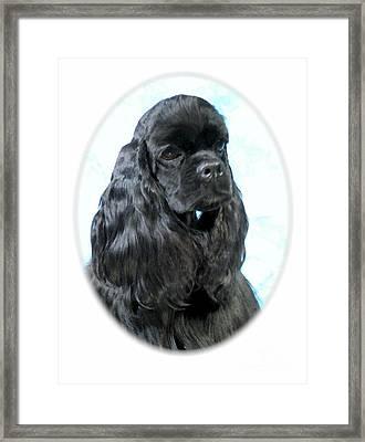 Cocker Spaniel 160 Framed Print by Larry Matthews