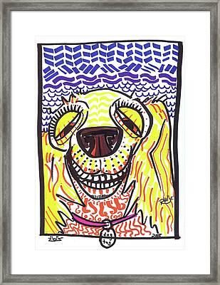Cocker Spaniel Framed Print by Robert Wolverton Jr