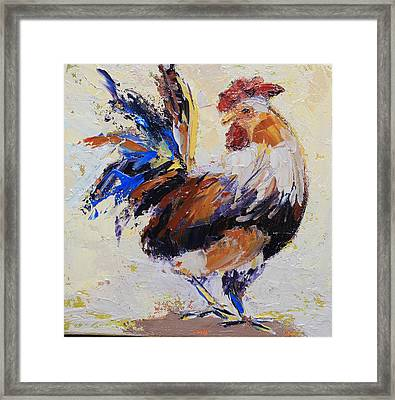 Cockrell Two Framed Print by Yvonne Ankerman