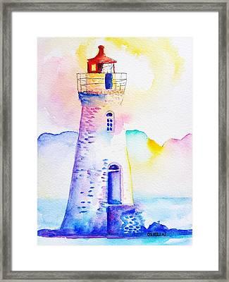 Cockspur Lighthouse Framed Print