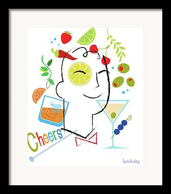 Cheers Framed Prints