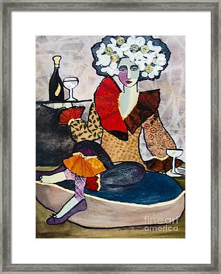Cocktails, Anyone? Framed Print