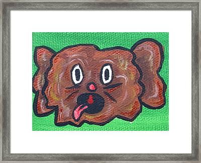 Coco Bean Framed Print by Jera Sky