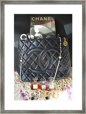 Coco Chanel Legacy Framed Print by To-Tam Gerwe