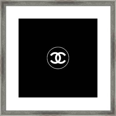 Coco Chanel Framed Print