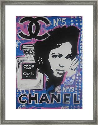 Coco Dandridge Framed Print