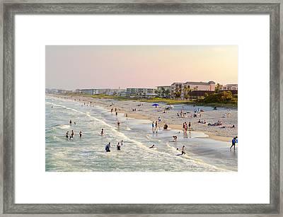 Cocoa Beach Framed Print