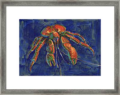 Coconut Crab Framed Print