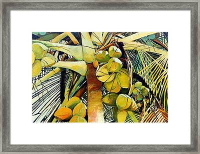 Coconuts I Framed Print
