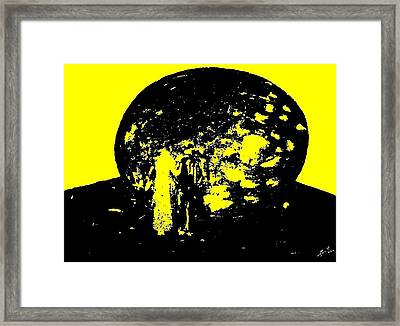 Cocoon Framed Print by Teo Spiller