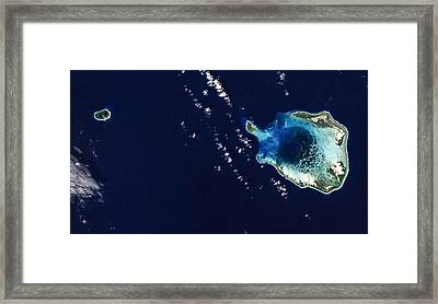 Cocos Islands Framed Print by Adam Romanowicz