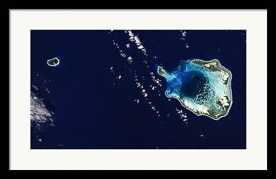 Atoll Framed Prints