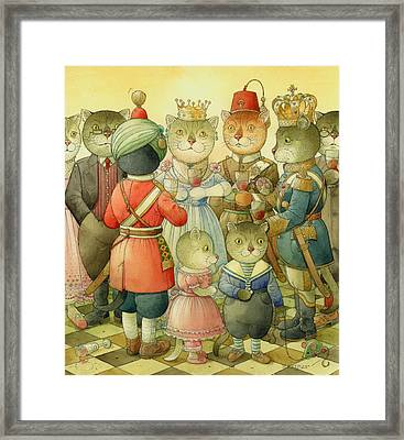 Coctail Party Framed Print by Kestutis Kasparavicius