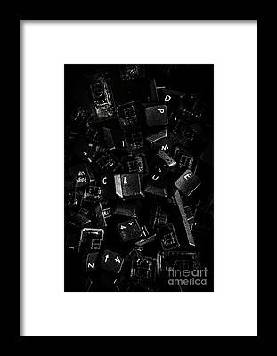 Research Framed Prints