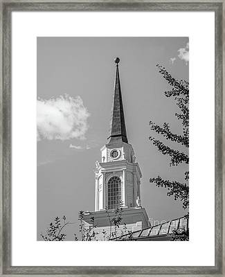 Coe College Sinclair Auditorium Framed Print by University Icons