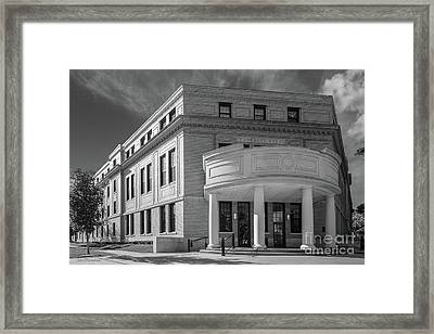 Coe College Voorhees Hall Framed Print by University Icons