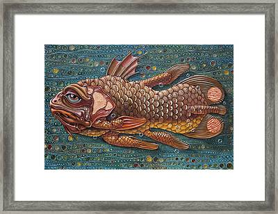 Coelacanth Framed Print
