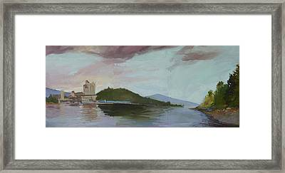 Coeur D Alene Lake    North  Idaho Framed Print