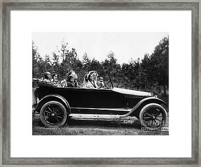Coeur Dalene, C1916 Framed Print by Granger