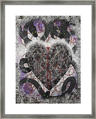 Coeur Obscursi Framed Print