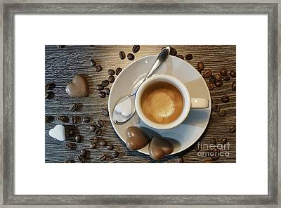 Coffee #1 Framed Print