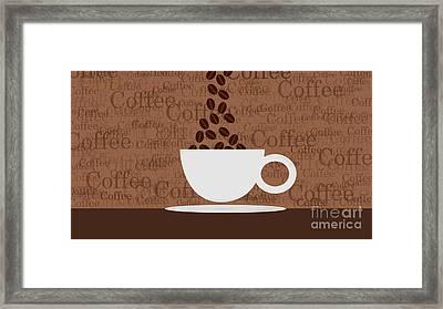 Coffee #3 Framed Print