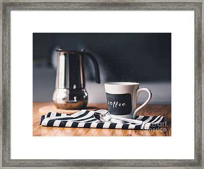 Coffee #5  Framed Print