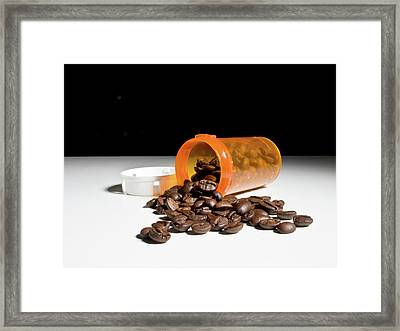 Coffee Addiction Framed Print