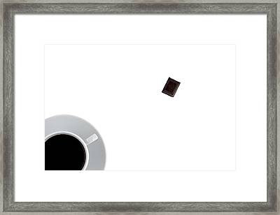 Coffee And Chocolade Framed Print by Gert Lavsen