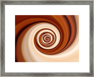 Coffee And Cream Framed Print by Pauline Thomas