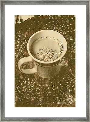 Coffee And Nostalgia Framed Print