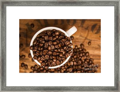Coffee Bean Advert Framed Print by Jorgo Photography - Wall Art Gallery