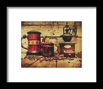 Coffee Grinders Framed Prints