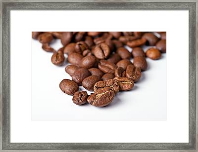 Coffee Beans Framed Print by Gert Lavsen