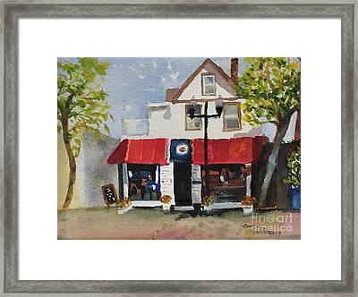 Coffee Co. Ocean City New Jersey Framed Print