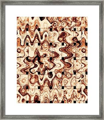 Coffee Cubes Framed Print by Dan Sproul