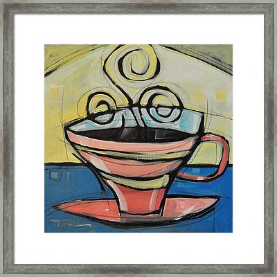 Coffee Cup Four Framed Print