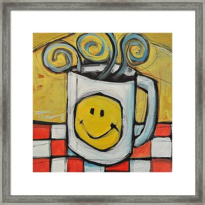 Coffee Cup One Framed Print