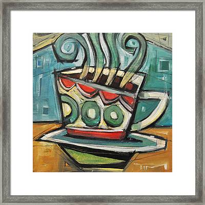 Coffee Cup Two Framed Print