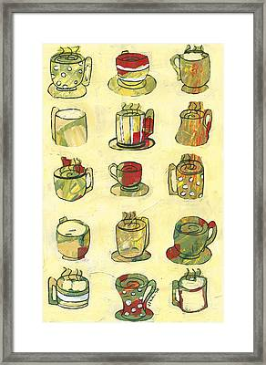 Coffee For Fifteen Framed Print