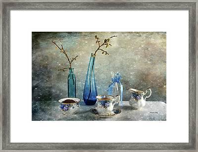 Coffee For One Framed Print by Randi Grace Nilsberg