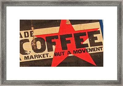 Coffee Framed Print by Gary Everson